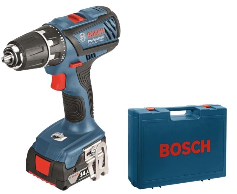 86eef1d70792f Aku kombinovaný šroubovák 2x2,0Ah Bosch GSB 14,4-2-LI Plus Professional 0  601 9E7 020