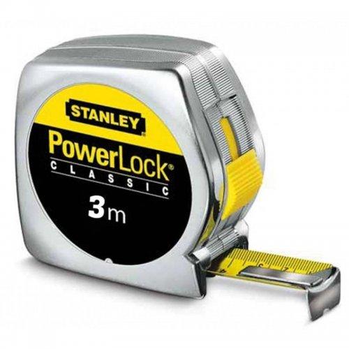 Svinovací metr 3m, plastové ABS pouzdro Stanley 0-33-041