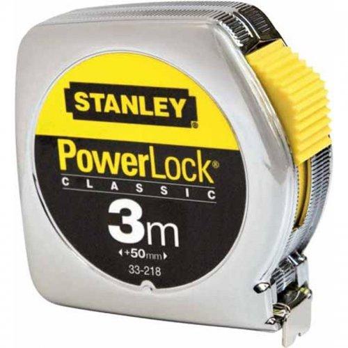 Svinovací metr 3m, kovové pouzdro Stanley 0-33-218