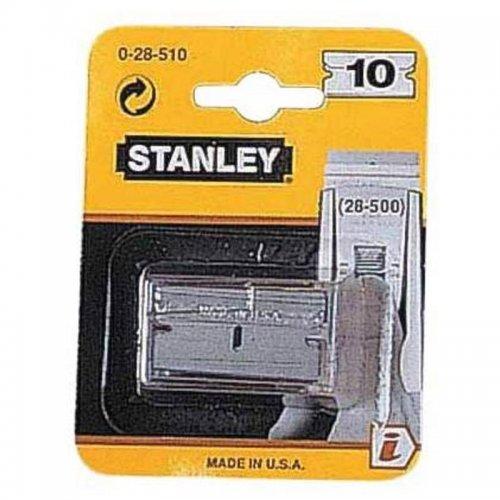 Čepel ke kovové škrabce na sklo 40mm 10ks Stanley 0-28-510