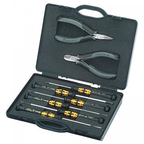 Pouzdro s kleštěmi pro elektroniku Knipex 00 20 18 ESD