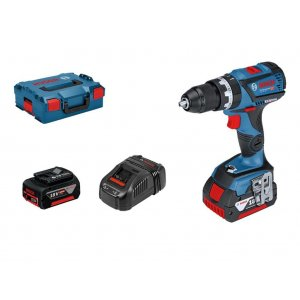 Aku vrtačka 18V 2x5,0Ah Bosch GSB 18V-60 C Professional 0 601 9G2 100