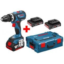 Aku příklepová vrtačka 2x2,0Ah Bosch GSB 18 V-EC Professional