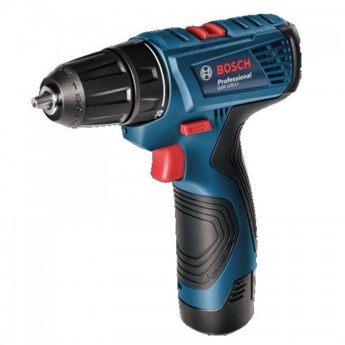 Aku vrtací šroubovák 2x1,5Ah Bosch GSR 120-LI Professional 0 601 9F7 001