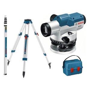 Optický nivelační přístroj Bosch GOL 20 D Professional + lať GR 500 + stativ BT 160