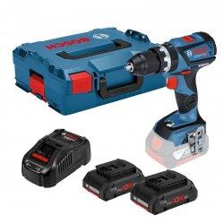 Aku vrtačka 18V 2x4,0Ah ProCore Bosch GSB 18V-60 C Professional 0 601 9G2 107