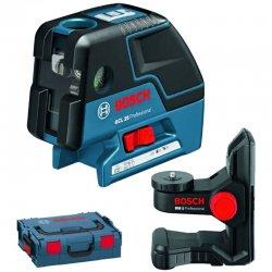 Křížový laser + BM 1 + L-Boxx Bosch GCL 25 Professional