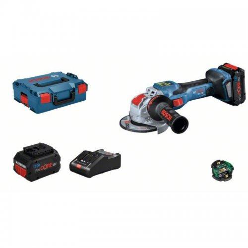 Aku úhlová bruska 125mm 18V + L-BOXX Bosch BITURBO GWX 18V-15 SC 0 601 9H6 501