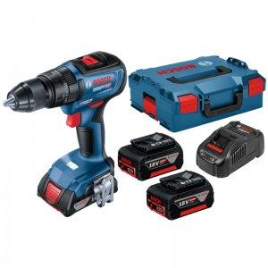 Aku kombinovaný šroubovák 18V 2x5Ah Professional Bosch GSB 18V-50 06019H5101