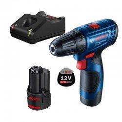 Aku vrtací šroubovák 2x2,0Ah Bosch GSR 120-LI 06019G8002
