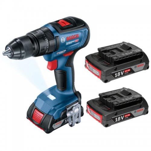 Aku kombinovaný šroubovák 18V 2x2Ah Professional Bosch GSB 18V-50 0 601 9H5 100