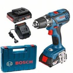 Aku vrtačka 2x2,0Ah Bosch GSR 18-2-LI Plus Professional 0 601 9E6 120