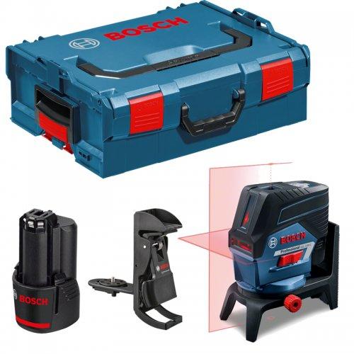 Křížový laser Bosch GCL 2-50 C Professional + aku 2,0Ah + L-Boxx 136