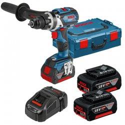 Aku vrtací šroubovák 18V 2x5,0Ah Bosch GSR 18V-85 C Professional 0 601 9G0 100
