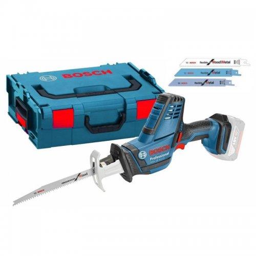 Aku pila ocaska bez aku + L-BOXX 136 Bosch GSA 18 V-LI C Professional