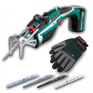 Aku zahradní pilka Bosch KEO set 10,8 LI + rukavice Bosch