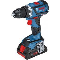 Aku vrtací šroubovák 18V bez aku Bosch GSR 18V-60 C Professional 0 601 9G1 102