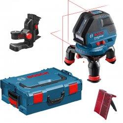 Multičárový laser Bosch GLL 3-50 Professional + L-BOXX 136 + držák BM 1