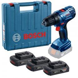Aku vrtací šroubovák 3x1,5Ah Bosch GSR 180-LI Professional