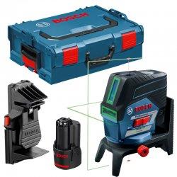 Křížový laser Bosch GCL 2-50 CG Professional + aku 2,0Ah + L-Boxx 136