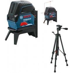 Křížový bodový laser + RM 1 + stativ BT 150 Bosch GCL 2-15 Professional