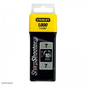Sponky na kabely TYP 7 CT100, 12mm 1000ks Stanley 1-CT108T