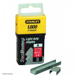 LD sponky TYP A 5/53/530, 6mm 1000ks Stanley 1-TRA204T