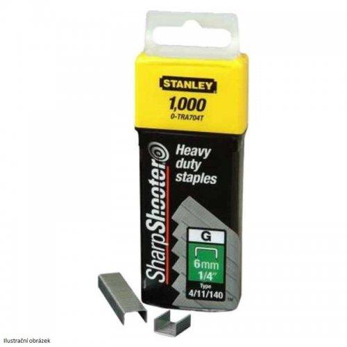 HD sponky TYP G 4/11/140, 8mm 1000ks Stanley 1-TRA705T