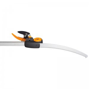 Teleskopické nůžky UPX86 + prořezávací pilka Fiskars 1023634