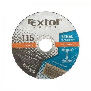 Kotouče řezné na kov 5ks 230x2,5x22,2mm EXTOL CRAFT 108050