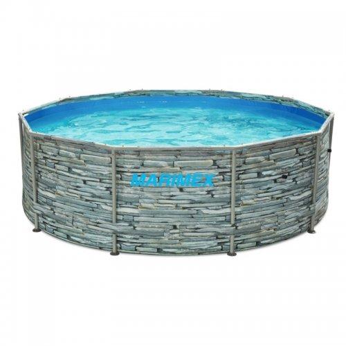 Bazén Florida 3,05x0,91 m bez filtrace - motiv KÁMEN Marimex 10340245