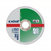 Kotouče řezné na kámem 5ks 125x2,5x22,2mm EXTOL CRAFT 108120