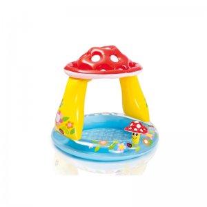 Nafukovací dětský bazén MARIMEX se stříškou - muchomůrka 11630247