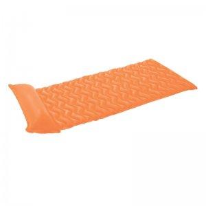 Nafukovací lehátko MARIMEX - vlnovka oranžová 116302421