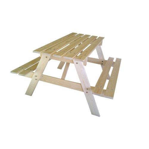 Dětská dřevěná souprava PIKNIK 70 cm Marimex 11640359