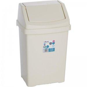 Odpadkový koš béžový 15l WHAM 11930