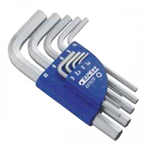 9dílná sada metrických zástrčných 6hranných klíčů TONA Expert E113929T