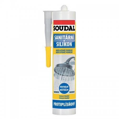 SOUDAL sanitární neutrální silikon 300ml bílý