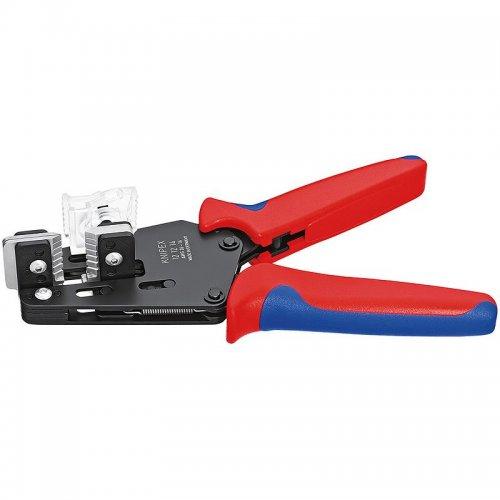 Přesné odizolovací kleště s tvarovými noži Knipex 12 12 14