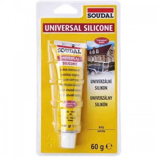 Univerzální silikon bistr transparentní 60 g SOUDAL 1210065