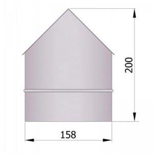 Zděř, rohová, vnější, průměr 150