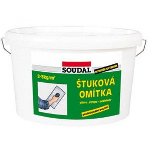 Štuková omítka bílá 8 kg Soudal 1520108