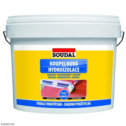 Koupelnová hydroizolace 5 kg Soudal 1510225