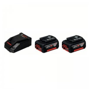 Set akumulátorů GBA 18V 2x4,0Ah Professional + rychlonabíječka Bosch AL 1860 CV