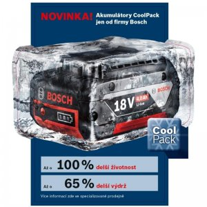 Akumulátor Bosch GBA 18V 4,0Ah M-C Cool-Pack Professional