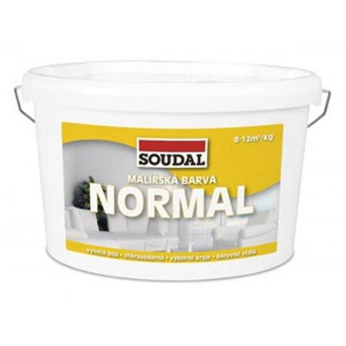Malířská barva Normal bílá 7,5 kg Soudal 1600300