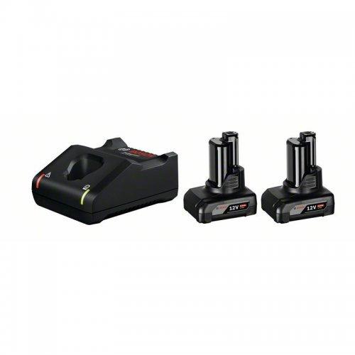 Startovací sada Bosch 2× GBA 12V 6.0Ah + GAL 12V 1600A01B20