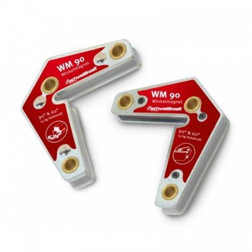 Úhlové magnety 2ks Schweißkraft WM 90
