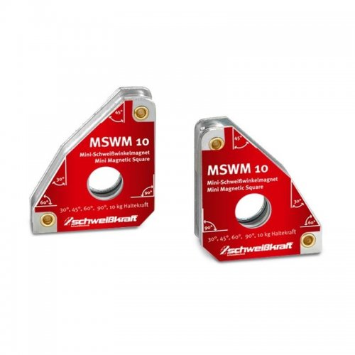 Permanentní svařovací úhlové magnety 2ks Schweißkraft MSWM 10