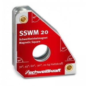 Permanentní svařovací úhlový magnet Schweißkraft SSWM 20